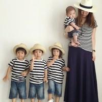 親子で着ているの見せて下さい。無印良品を取り入た親子コーディネート