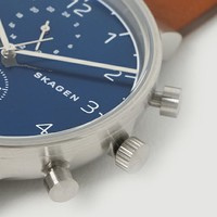 """さりげない存在感。お洒落な彼への贈り物にも◎な""""スカーゲン(skagen)""""の腕時計"""