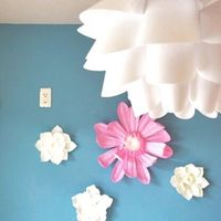 壁にお花を咲かせましょ! フランフランのウォールフラワーで可愛いお部屋づくり
