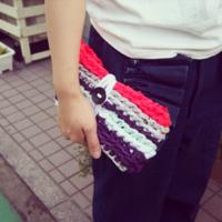 """""""指だけ""""で編める♪ 簡単編み物「指編み」であったか冬小物を作ってみませんか?"""
