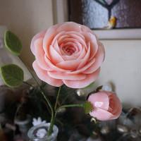 石鹸がかわいいバラに変身♡夢中になる人続出のソープカービング