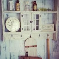 【DIY】一塗りでアンティーク家具の風合い☆クラッキング塗装に挑戦してみよう