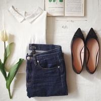 やっぱり憧れちゃう!今年の夏デニムは『パリジェンヌ』のように着こなすのが新ルールです