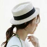 紫外線対策にも◎夏おしゃれの新ルール「ナチュラル帽子+○○」でお出かけ♪