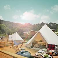 キャンプ初心者さんへ♪『GRAX』で快適グランピングを体験してみない?