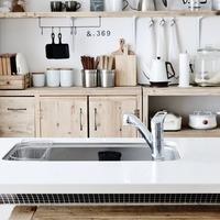 簡単・おしゃれな「見せる収納」で、キッチンをもっと使いやすく♪