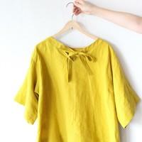 ナチュラル美人さんの定番服「リネン」。今年の夏は『色』で選ぶのが気分です♪