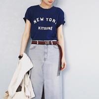 シンプルイズベスト!夏の定番スタイル【Tシャツ×デニム】コーデ集