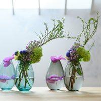 夏のインテリアにきらめく透明感を。ガラスの雑貨で夏を涼しく彩ろう