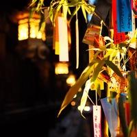 はんなりと夕涼み。夏休みは、京都の夏の風物詩「京の七夕」へ♪