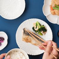 どんなお料理も合う、清い「白」のお皿で食卓を彩ろう