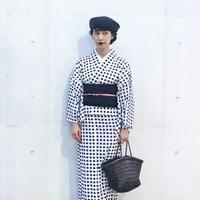 夏を楽しむ、日本を楽しむ。ナチュラルさんの浴衣コーデ