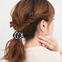 忙しい朝も素敵に♪ぱぱっと3~5分でできる、簡単時短まとめ髪のヘアアレンジ集