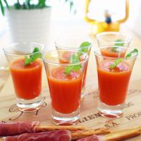 夏野菜をたっぷり摂ろう*手軽に作れる冷たいスープ・ガスパチョのレシピ集