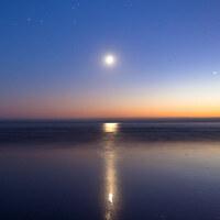 """月のリズムに合わせて。心とからだを癒す""""月ヨガ""""で、自然体のキレイを目指そう!"""