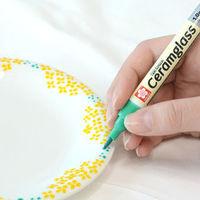 描いて乾かすだけでオリジナル食器が作れる♪陶磁器用マーカー「セラムグラス」を使ってみよう