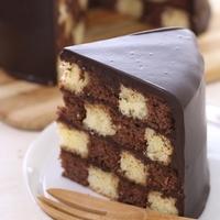 チェッカー柄の可愛いケーキ!「サンセバスチャン」を作ってみよう