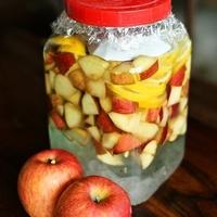 林檎、柿、花梨♪秋の果物を使って濃厚でおいしい果実酒を作ろう