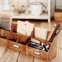 100円の木のボックスが可愛く変身♪DIYで自分好みのインテリアに仕上げよう