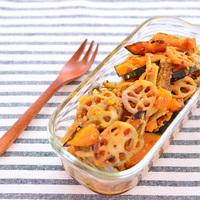旬の食材で作り置きがおいしい!秋が旬の「かぼちゃ・きのこ・根菜」を使った常備菜レシピ