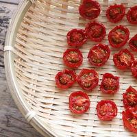トマトがたくさん、どうしよう!美味しさ凝縮「ドライトマト/セミドライトマト」を作ろう