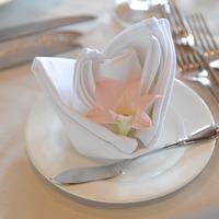 食卓が華やぐ♪おもてなしにもぴったりの【ナプキンの素敵な折り方】