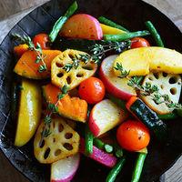 """野菜をいっぱい食べよう♪ おもてなし料理にも使える""""冷・温もりもりサラダ""""レシピ"""