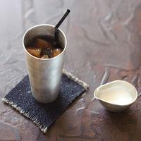 ビール、お茶、コーヒーも。どんな飲み物でもおいしくなる「錫(すず)」のタンブラー