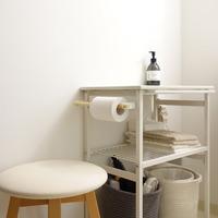 すっきり、清潔感のある空間に。洗面所をキレイに保つ「賢い収納アイデア」