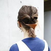 秋冬ファッションをバランスよく仕上げる。大人可愛い「まとめ髪」カタログ