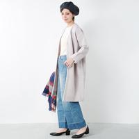 今年のコートはもう決めた?ナチュラルコーデに似合う「ノーカラーコート」が可愛い