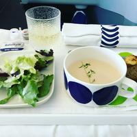 """旅の楽しみを見つけたよ。行く先は、""""機内食""""の味で選ぶのもまたよろし◎"""