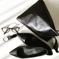 着まわし力抜群!Under5000円の「+プチプラアイテム」で作る大人の黒コーデ