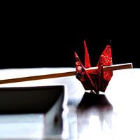 急な来客でも、慌てずおもてなし♪折り紙で作る、素敵な『箸置き』の折り方