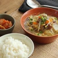 質素に、けれど栄養はしっかり摂れる!『 一汁一菜』の献立レシピ帖