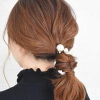 ヘアスタイルがパッと華やぐ♪パールつきヘアアクセサリーの使い方レッスン