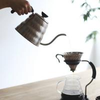美味しい家コーヒーには欠かせないよ。とっておきのコーヒーポットを。