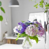 梅雨にこそ、花のある暮らしを。素敵な存在感を放つ「初夏の花」と「花器」をご紹介*