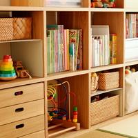 成長に合わせて使いやすい♪無印良品の家具で作る「子供部屋」