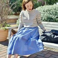 手芸初心者さんでも簡単♪夏の装いにプラスしたい「サーキュラースカート」作り方