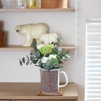 お花で心豊かなお部屋づくり。初心者さんでも簡単にできる《基本の生け方・飾り方》