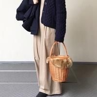 バッグから春を先取り♪いつもの鞄を『カゴバッグ』に変えてみよう