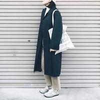 """""""ステンカラーコート""""でつくる、シンプルな大人の上質スタイル"""