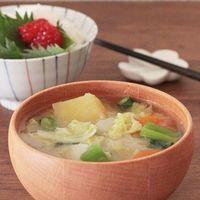 【お買物メモ付】日本人のソウルフード『具だくさん味噌汁の一週間レシピ』