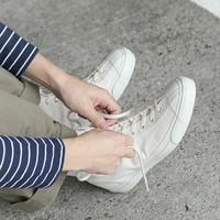 春の足元に、愛着を*職人技が光る《ジャパンメイドの白スニーカー》でお出かけしませんか