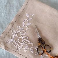 初心者さんにおすすめ♪簡単な「シンプルステッチ」でつくる刺繍アイテム