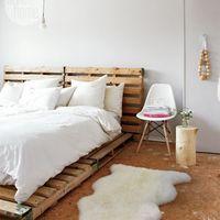 簡単DIY!真似したくなる【すのこ】でリメイクしたベッドが素敵!
