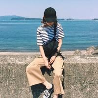 """""""セントジェームス""""のボーダーシャツを使ったコーディネイトまとめ"""
