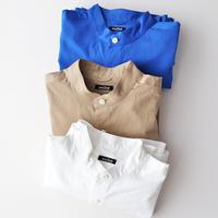 楽ちんだけどきちんと感も◎。この春「スタンドカラーシャツ」が頼もしい!