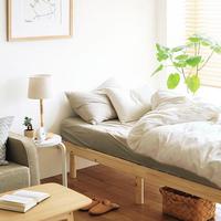 ぐっすり眠って気分よく♪《寝室》をリラックスできる大好きな空間にするヒント